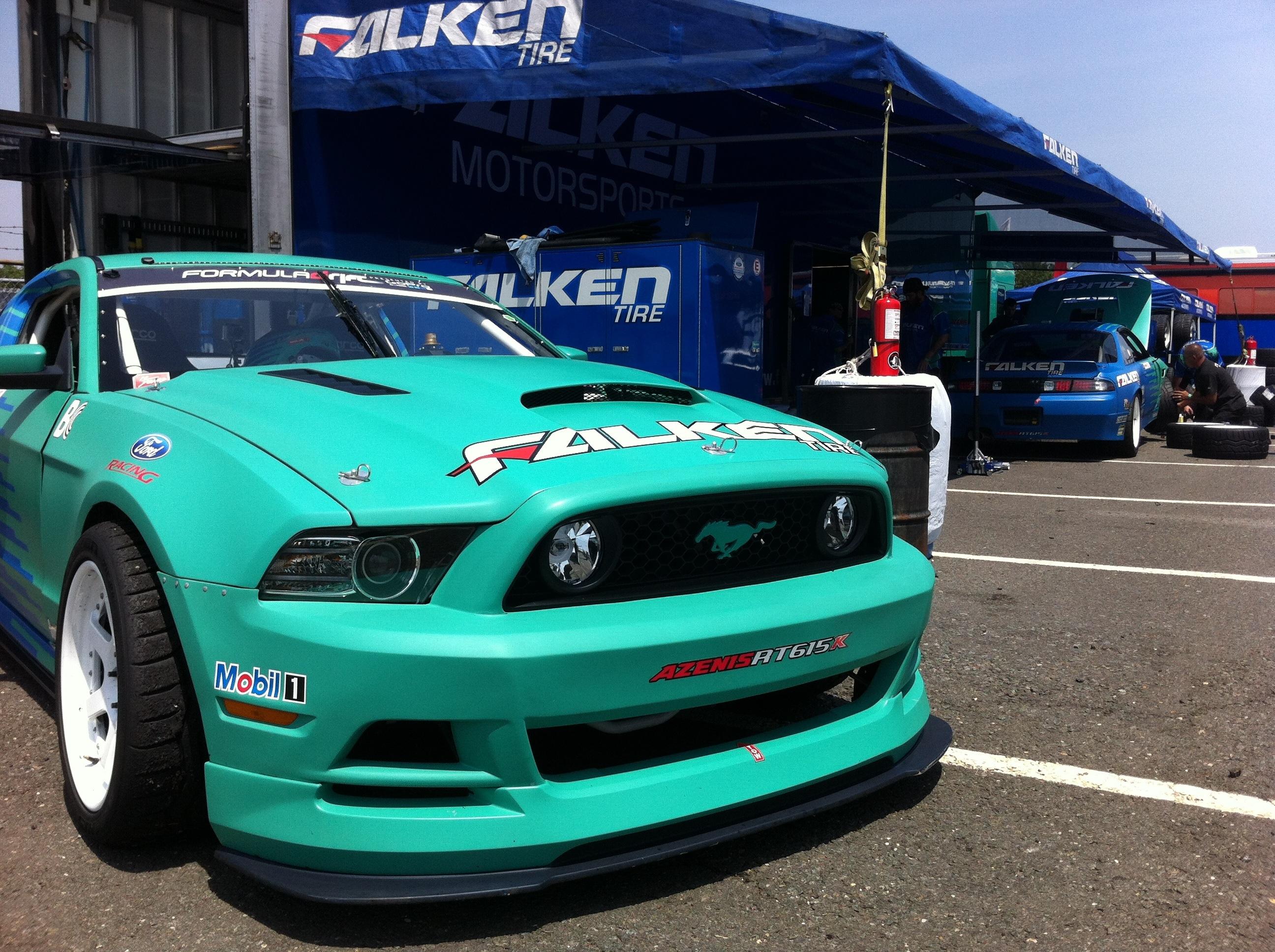 Falken Tire Formula Drift Mustang